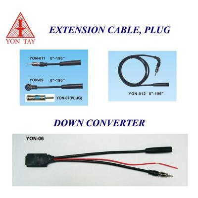 Extension Cable, Plug